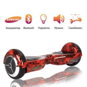 Гироскутер Smart Balance Wheel 6.5 дюймов красное пламя