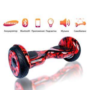 Гироскутер Smart Balance красное пламя